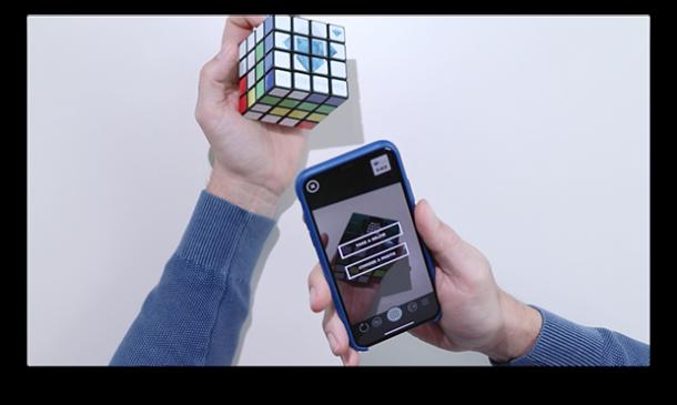 disc cube AR