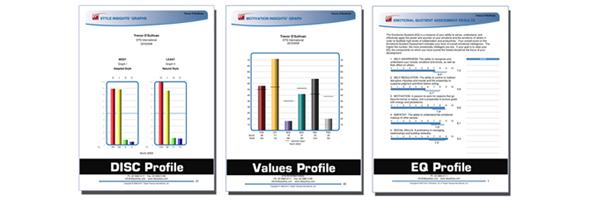 Sample profile graphs