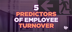 Top 5 Predictors of Employee Turnover