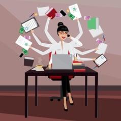 Multitasking in Human Resources