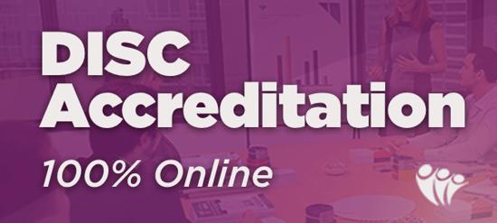 XMAS Deal 2019 - DISC Accreditation