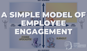 A Simple Model of Employee Engagement | Employee Engagement