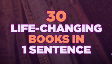 30 Life-Changing Books in 1 Sentence | General Business